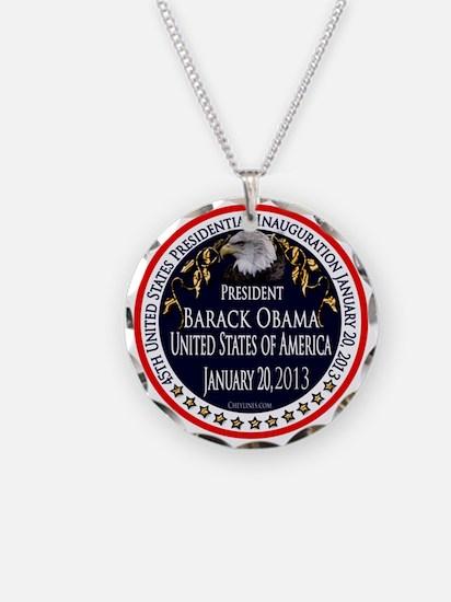 Barack Obama Inauguration 2013 Necklace