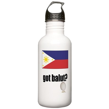 PI Flag Got Balut Stainless Water Bottle 1.0L