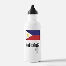 PI Flag Got Balut Water Bottle