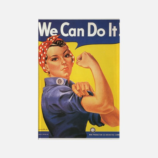 WWII POSTER WE CAN DO IT! Rectangle Magnet