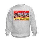 Mac Dill Field Florida (Front) Kids Sweatshirt