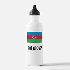 AzerbaijanFlag GotPlov Water Bottle