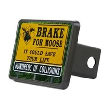 Moose Sign Hitch Cover