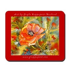 Premium Poppy Mousepad