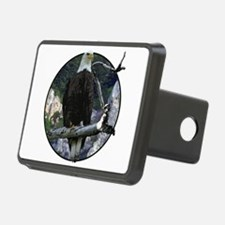 Bald Eagle in cliffs Hitch Cover