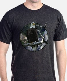 Bald Eagle in cliffs T-Shirt