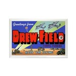 Drew Field Tampa Florida Rectangle Magnet