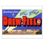 Drew Field Tampa Florida Small Poster