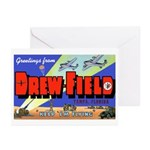 Drew Field Tampa Florida Greeting Cards (Package o