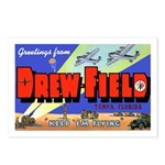 Drew Field Tampa Florida Postcards (Package of 8)