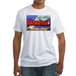 Drew Field Tampa Florida Fitted T-Shirt