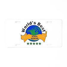 Unique Back to back world war champs Aluminum License Plate