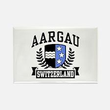 Aargau Switzerland Rectangle Magnet