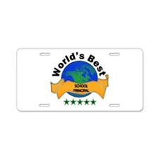 Funny Back to back world war champs Aluminum License Plate