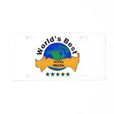Educational administration Aluminum License Plate