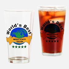 Cute World%27s hottest middle school teacher Drinking Glass