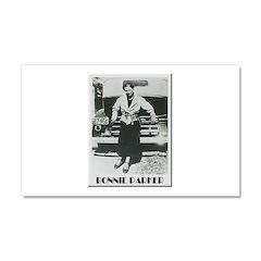 Bonnie Parker Car Magnet 20 x 12