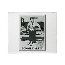 Bonnie Parker Throw Blanket