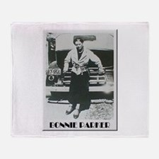 Bonnie Parker Throw Blanket