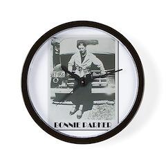 Bonnie Parker Wall Clock