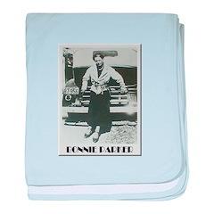 Bonnie Parker baby blanket