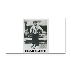 Bonnie Parker Rectangle Car Magnet