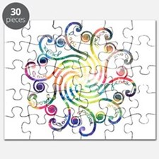 Cosmic Peace Love Puzzle