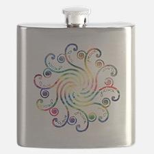 Cosmic Peace Love Flask