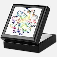 Cosmic Peace Love Keepsake Box