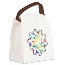 Cosmic Peace Love Canvas Lunch Bag