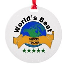 5 star teacher Ornament
