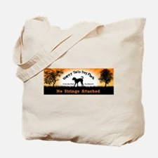 No Strings Attached Tote Bag