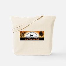 Live Free and Bark Tote Bag