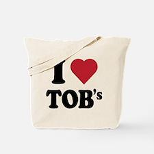 I Heart TOB's (tig ole bitties) Tote Bag