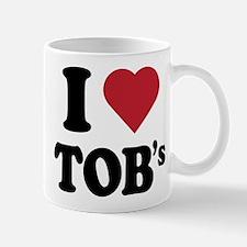 I Heart TOB's (tig ole bitties) Mug