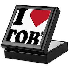 I Heart TOB's (tig ole bitties) Keepsake Box