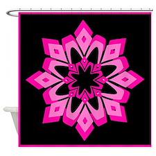 Rose Crystal Shower Curtain