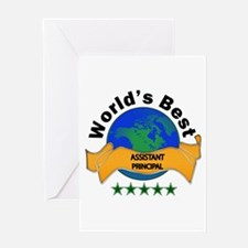 Cute Back to back world war champs Greeting Card