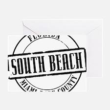 South Beach Title Greeting Card