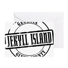 Jekyll Island Title Greeting Card