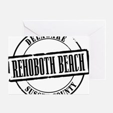 Rehoboth Beach Title Greeting Card