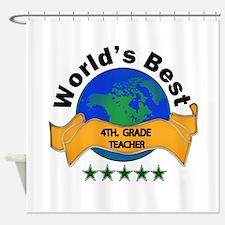 Unique 4th grade Shower Curtain