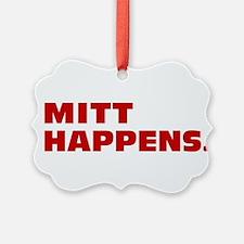 Mitt Happens Ornament