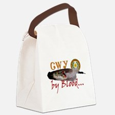 Cherokee by Blood Canvas Lunch Bag