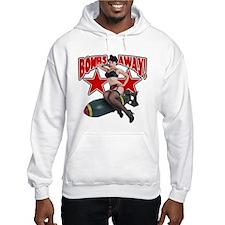 Bombs Away Pin-Up Shirt Hoodie