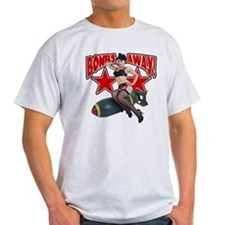 Bombs Away Pin-Up Shirt T-Shirt