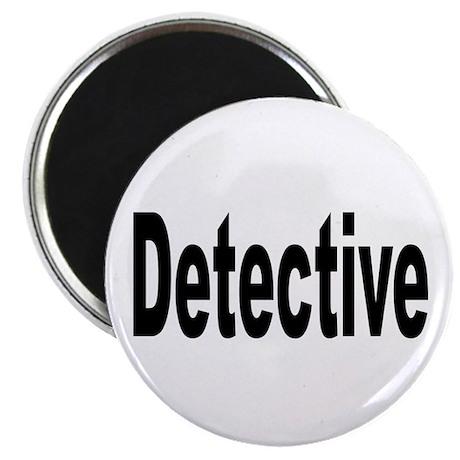 "Detective 2.25"" Magnet (10 pack)"