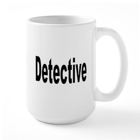 Detective Large Mug