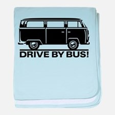 Drive by Bus 1 baby blanket