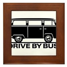 Drive by Bus 1 Framed Tile